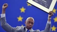 Guillermo Fariñas recibe el premio Sájarov