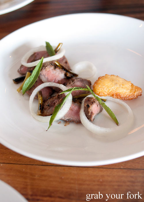 iberico pork secreto at animal restaurant los angeles by jon shook and vinny dotolo