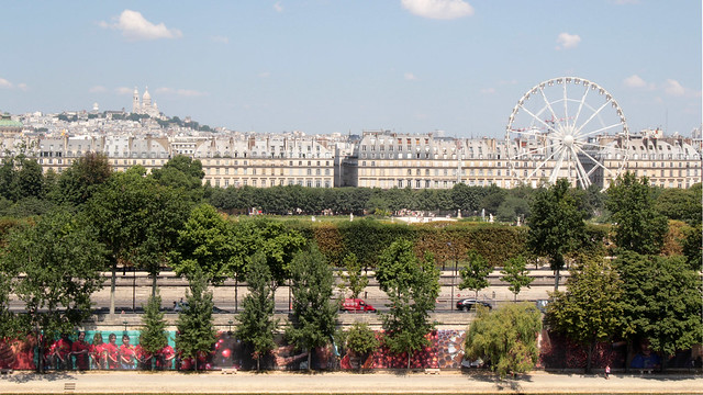 Tuilleries in the summer