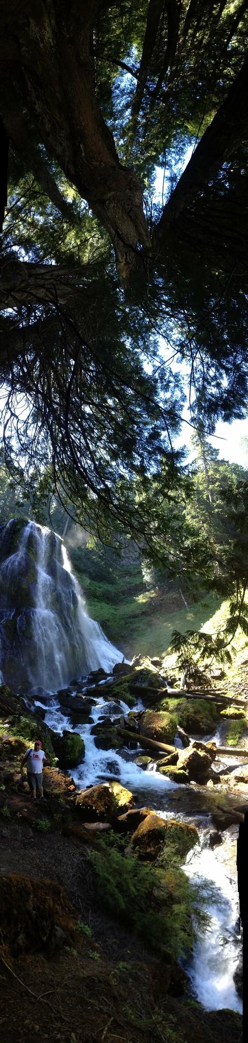 Falls Creek Falls Vertorama