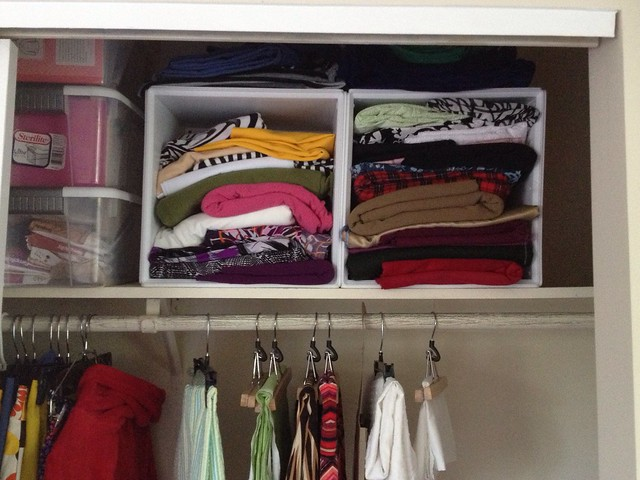 Fabric stash organization