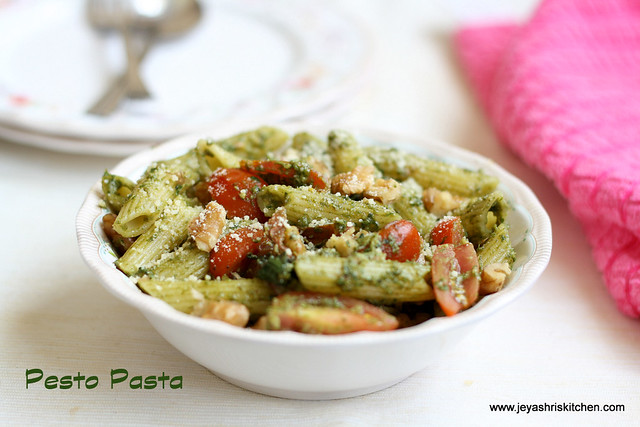 pesto - pasta-recipes