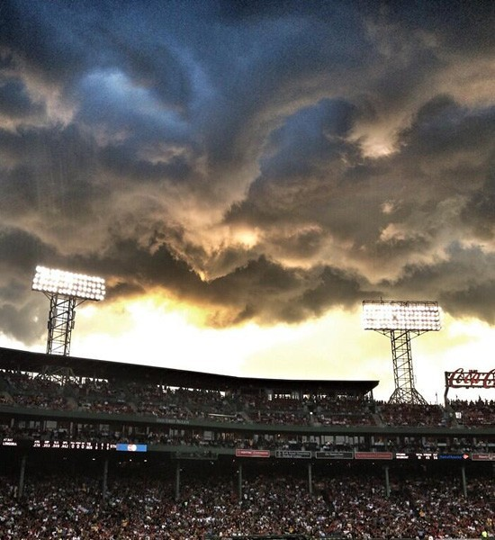 Fenway Red Sox Yankees Game Storms Boston!
