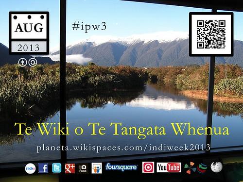 Te Wiki o Te Tangata Whenua (Indigenous Peoples Week) #maori #ipw3