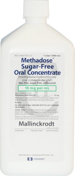 Methadose sugar-free methadone oral concentrate 10mg/ml