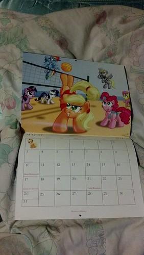 2014 Life in Equestrial Calendar