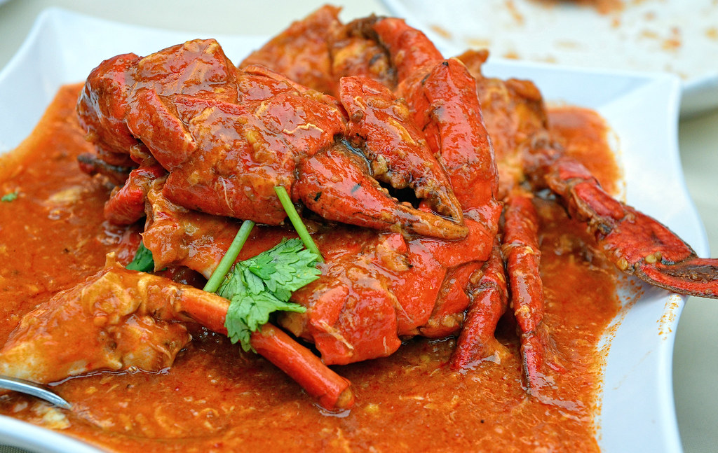 Singapore food: Chilli Crab. Photo by jh_tan84 / Flickr