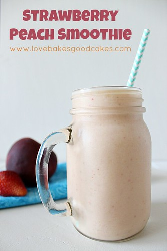 Strawberry Peach Smoothie 2