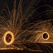 Lightpainting with steel wool