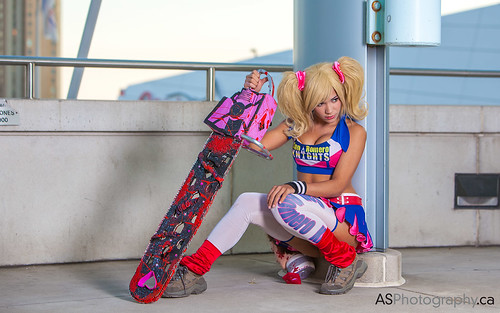 Juliet Starling from Lollipop Chainsaw by the spectacular Not so Skeletal cosplay at Fan Expo 2013 Toronto by andreas_schneider