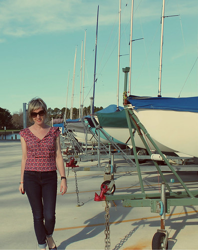 Gertie's Sailor Blouse