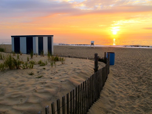 ocean beach sunrise dawn sand delaware rehobothbeach thepines deauville