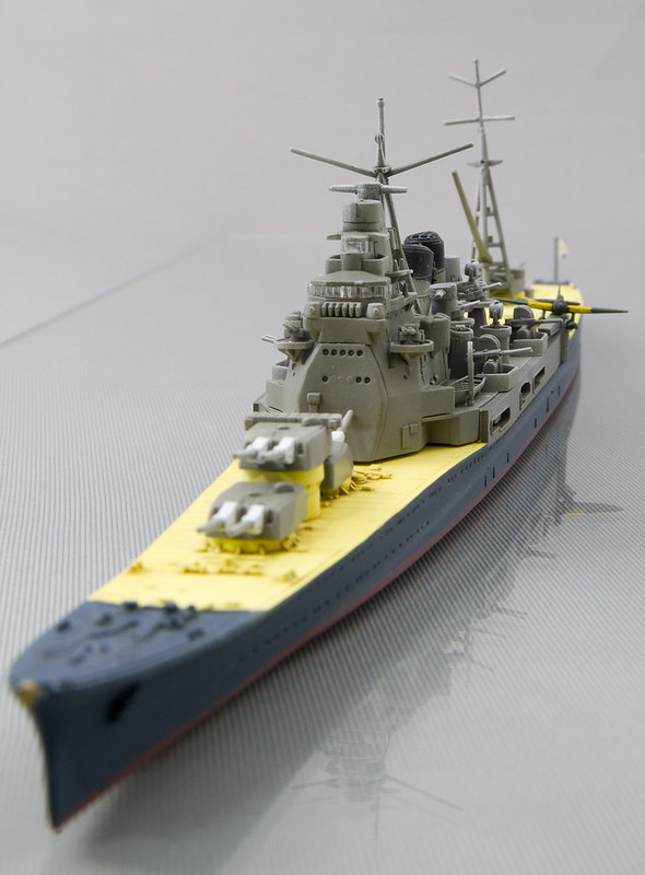 1/700 Heavy Cruiser Atago 7