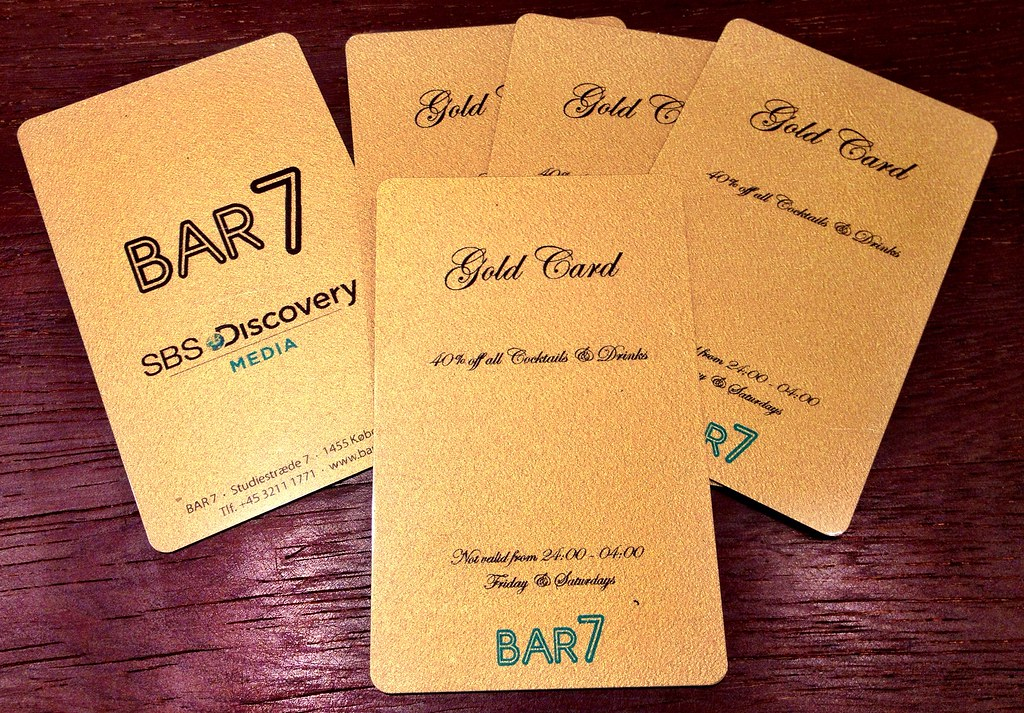 ... Bar7 Gold Cards to be won tomorrow on www.cphblonde.com
