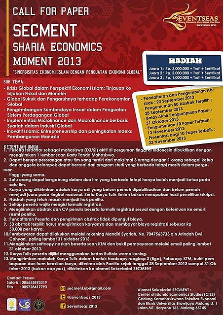 Economics Event South East Asia, Lomba Karya Tulis Ekonomi Syariah