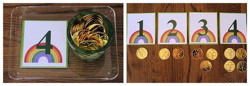 St. Patrick's Day Cards and Counters