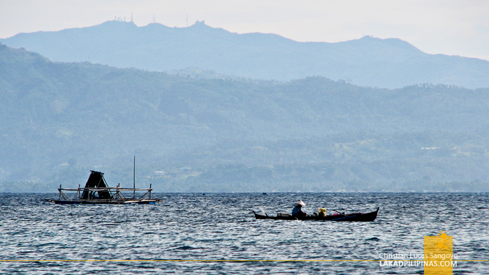 Fisherfolks at Linamon's Mago-ong Beach