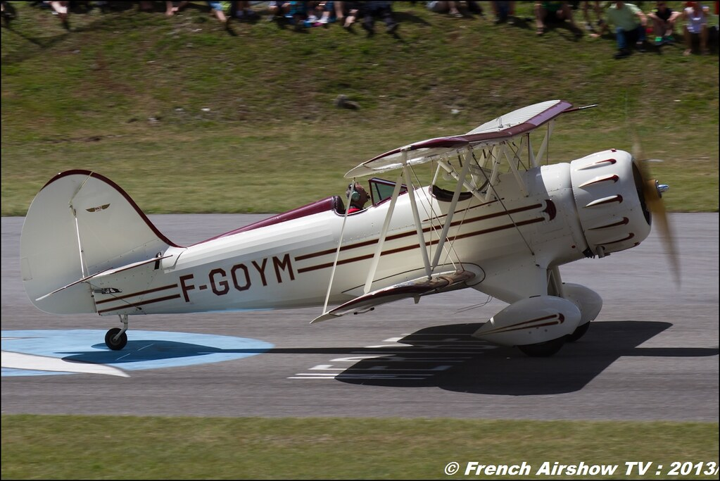 WACO F-GOYM , Meribel Air Show 2013