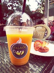 mango juice Fruitjuice at Palace Cafe