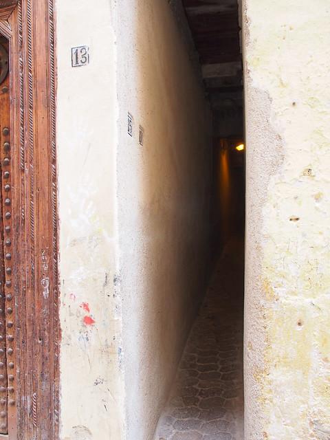 小巷子內的住戶