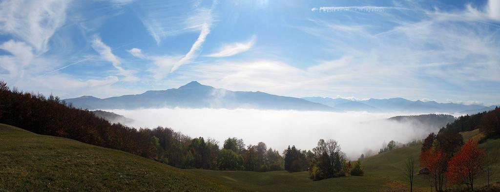 20. Monte Cimone y mar de niebla. Apeninos modenenses. Autor, Roby Ferrari