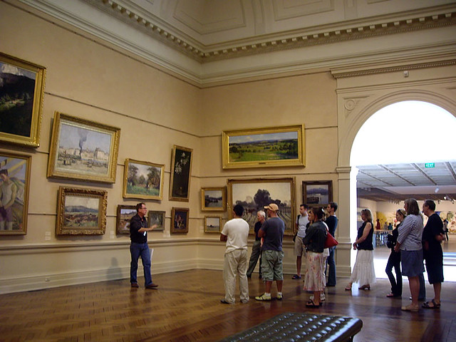 TALK AT THE NSW ART GALLERY BY MIKE LAMBLE