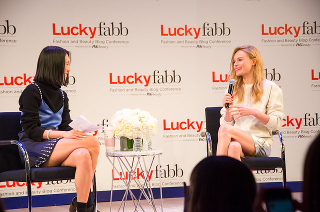 eva chen interviews kate bosworth at lucky fabb conference 2013