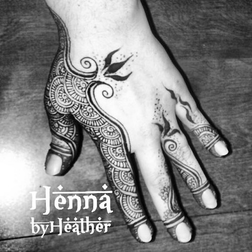 Bahraini / Khaleeji Henna Design by Henna by Heather - serving Boston and Providence