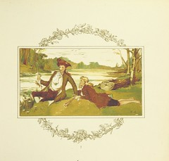 """British Library digitised image from page 9 of """"The Wreath, & other pastorals. Illustrated by T. Pearce"""""""
