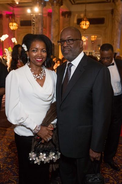 Denise Bradley Tyson and Bernard Tyson