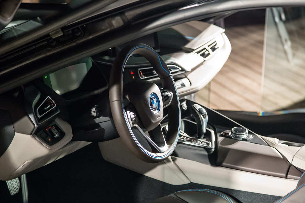 bmw i8 interior production. bmw i8 interior production