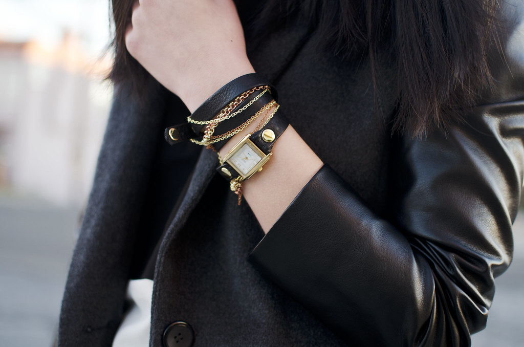 readytwowear, la mer wrap watch, leather wrap watch, san francisco fashion blog
