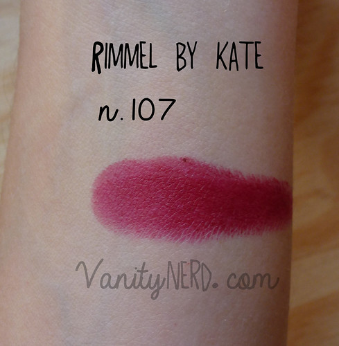 Rimmel by Kate swatch 107