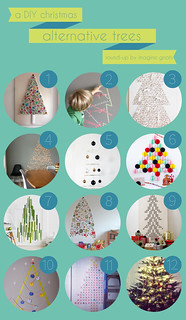 round-up: alternative christmas trees