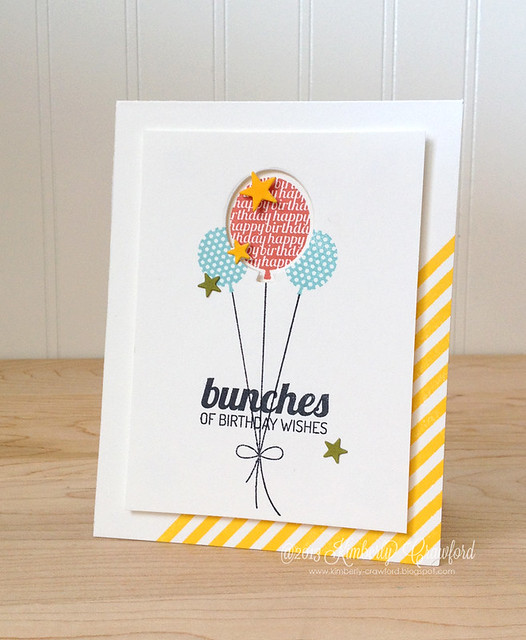 bunches of birthday wishes Lil Inker Designs by Kimberly Crawford