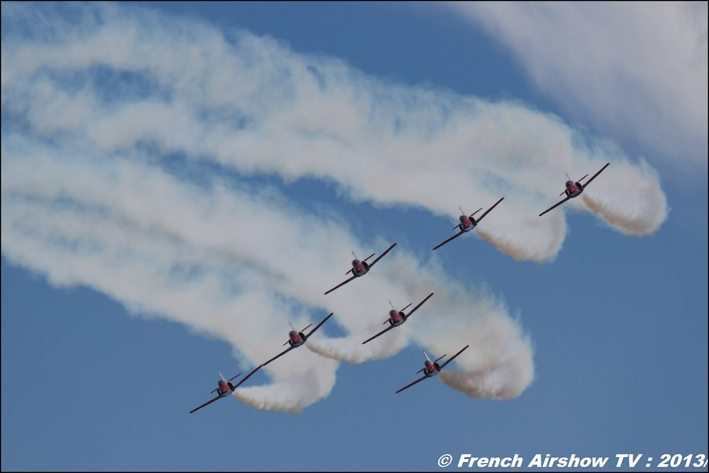 Patrulla Águila aerobatic display team ,patrouille Águila Air14 Payerne 2014