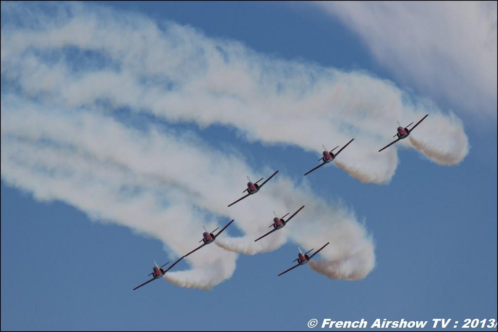 Patrouille Aguila,60 ans Patrouille de France , Meeting Aerien 2013