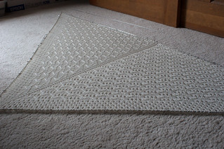 Lida Shawl Blocking