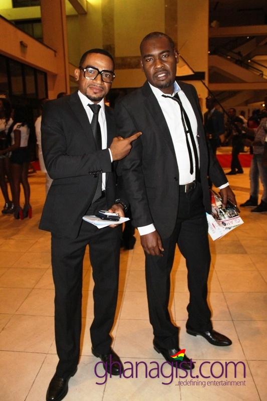 Pascal Amanfo and Sallam Mumuni