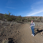 Emily on Mauna Kea