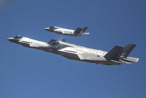 Three F-35 Aircraft