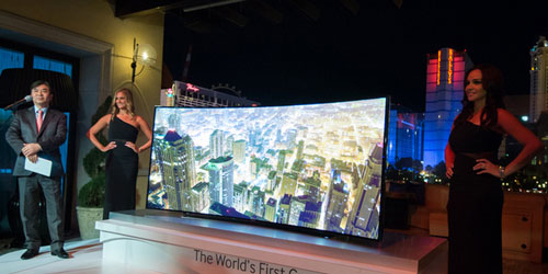 CES 2014: Samsung has revealed a wild bendable TV