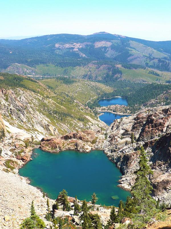 Three Lakes overlook