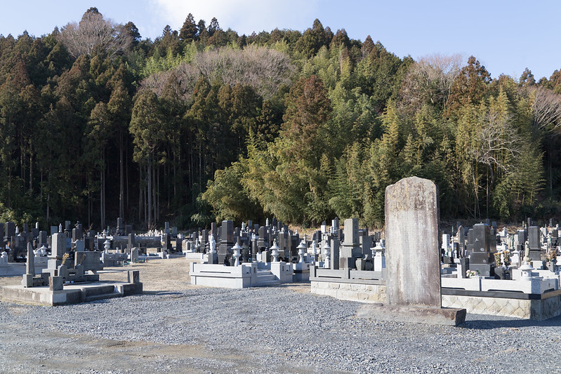 Cemetery Along the Kitakami River