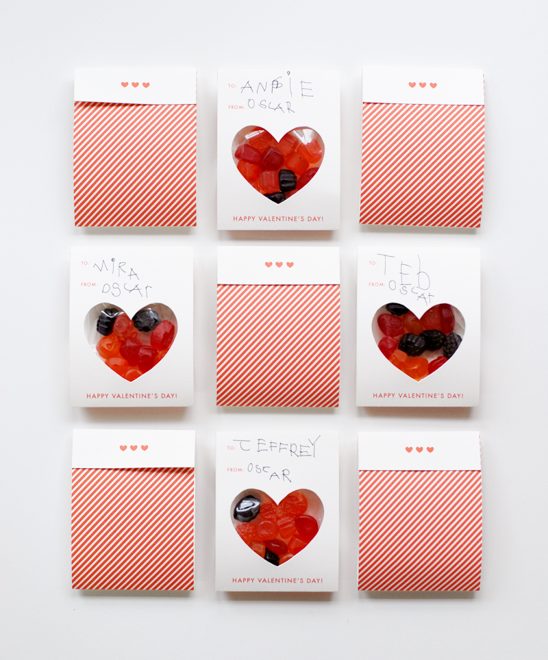 Oscar's valentines 2014