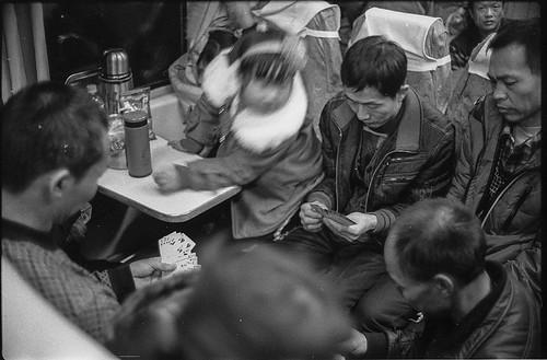 Chinese train by Vasilij Betin