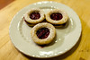Hazelnut Linzer Cookies with Raspberry Clementine Jam