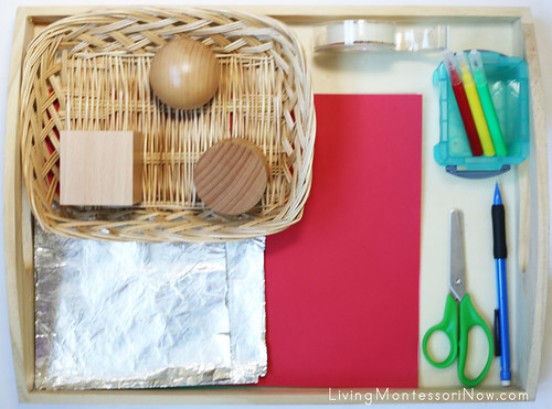 Geometric Solid Dressing and Wrapping Tray