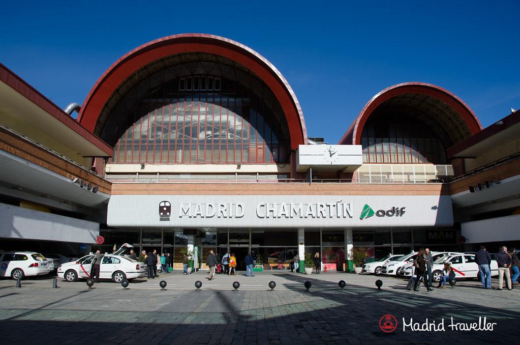 Madrid Train Station Chamartn