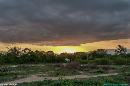 Puesta de Sol en Catamarca, Argentina